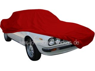 Car-Cover Samt Red for Lancia Beta