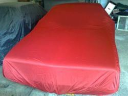 Car-Cover Satin Red für Lancia Gamma Coupe