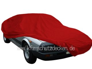 Car-Cover Samt Red for Lancia Montecarlo