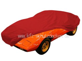 Car-Cover Satin Red für Lancia Stratos