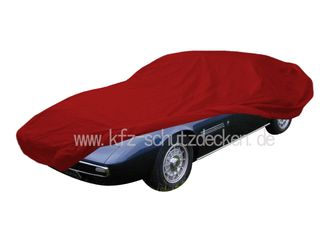 Car-Cover Satin Red für Maserati Ghibli