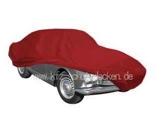 Car-Cover Satin Red für Maserati GT 3500 Spyder