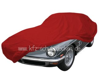 Car-Cover Satin Red für Maserati Mistral