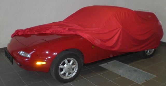 ... Car Cover Samt Red For Mazda Miata / MX 5 ...