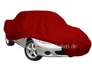Vollgarage Samt Red für Mazda MX 5 NB/NB-FL (1998-2005)