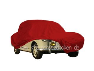 Car-Cover Satin Red für Mercedes 180 Ponton