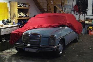 Car-Cover Satin Red für Mercedes 230-280CE Coupe /8 (W114)