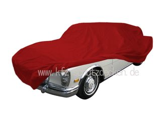 Car-Cover Satin Red für Mercedes 600 kurz