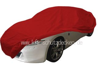Car-Cover Satin Red für Nissan 370 Z