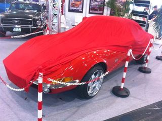 Car-Cover Satin Red für Opel GT 1. Serie