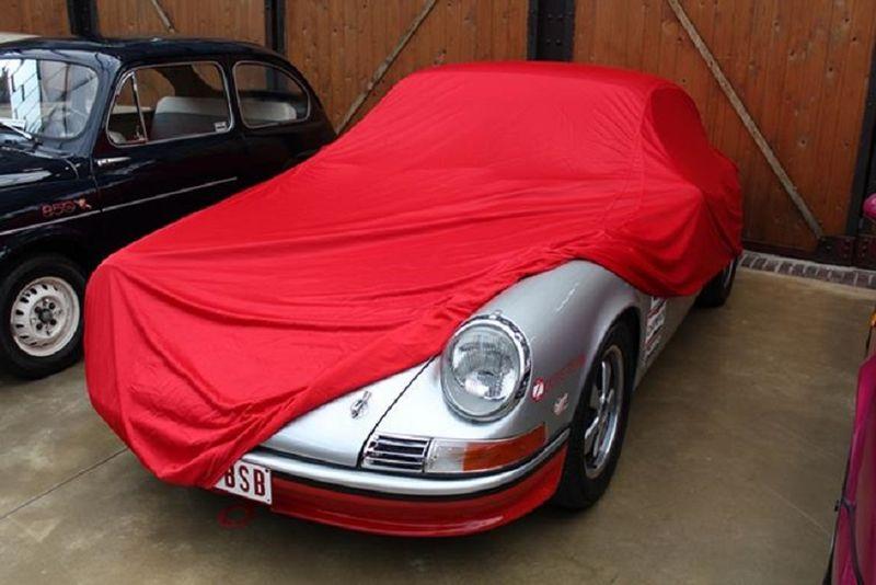 Porsche Car Cover: Car-Cover Samt Red Für