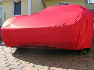 Car-Cover Satin Red für Porsche 944