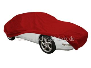 Car-Cover Satin Red für Porsche 993