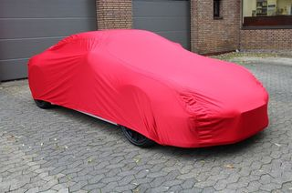 Car-Cover Satin Red für Porsche 996