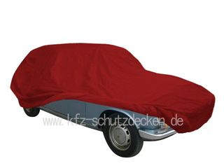 Car-Cover Satin Red für Renault R 16