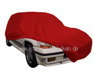 Car-Cover Satin Red für Renault R5