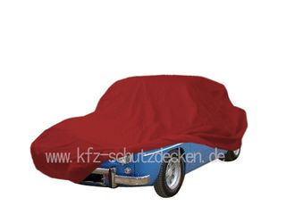 Car-Cover Samt Red for Renault R8