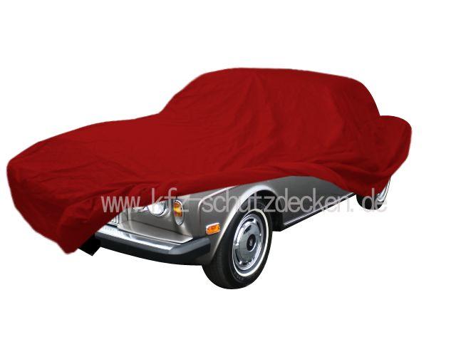 Car-Cover Satin Red Für Rolls-Royce Corniche
