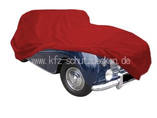 Car-Cover Satin Red für Rolls-Royce Silver Dawn