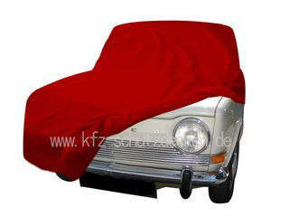 Car-Cover Satin Red für Simca 1000
