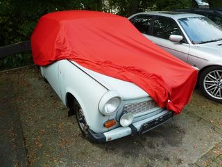 Car-Cover Satin Red für Trabant 601