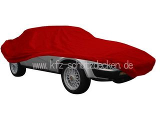 Car-Cover Satin Red für Triumph TR8