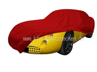 Car-Cover Satin Red für TVR Tuscan