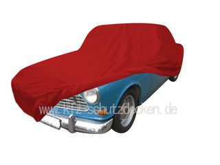 Car-Cover Satin Red für Volvo Amazon