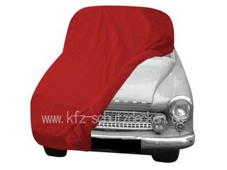 Car-Cover Satin Red für Wartburg 314 Limosine