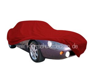 Car-Cover Satin Red für TVR Griffith