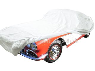 Car-Cover Satin White for Chevrolet Corvette C1