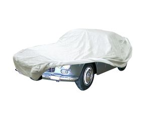 Car-Cover Satin White für Lancia Flaminia Cabriolet