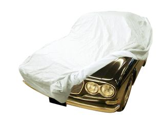 Car-Cover Satin White für Lancia Flavia Limousine