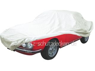 Car-Cover Satin White für Lancia Fulvia Coupé