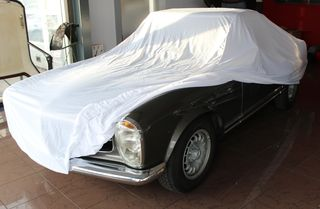 Car-Cover Satin White für Mercedes 230SL-280SL Pagode