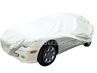 Car-Cover Satin White for Mercedes C-Klasse 2000-2006
