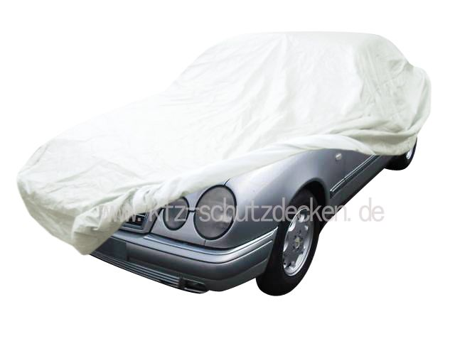 Autoabdeckung vollgarage car cover satin white f r for Mercedes benz e350 car cover