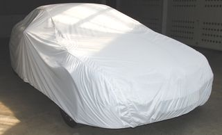 Car-Cover Satin White für Mercedes SLK R171