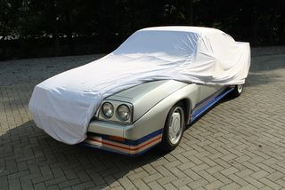 Car-Cover Satin White für Opel Manta B