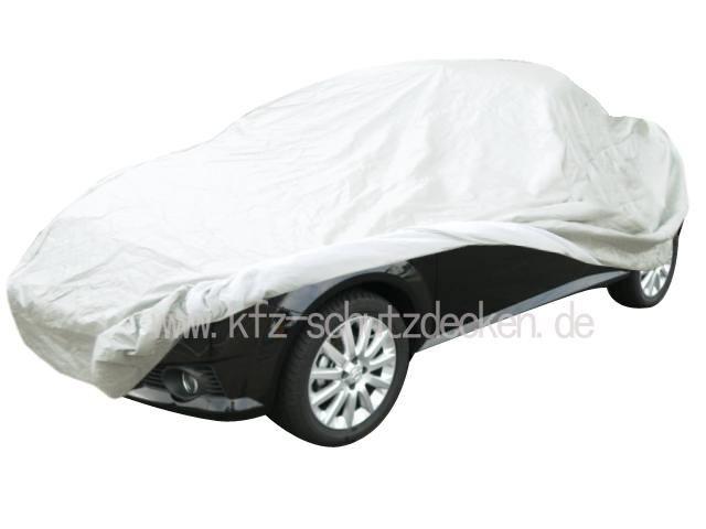 autoabdeckung vollgarage car cover satin white f r. Black Bedroom Furniture Sets. Home Design Ideas