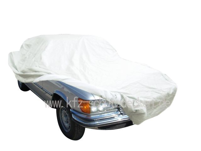 autoabdeckung vollgarage car cover satin white f r s. Black Bedroom Furniture Sets. Home Design Ideas