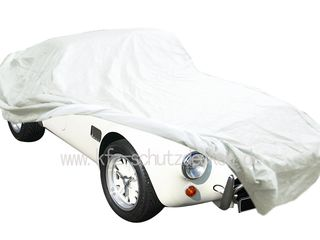 Car-Cover Satin White für AC Cobra