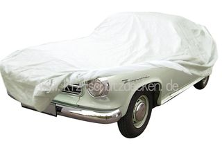 Car-Cover Satin White für Borgward Isabella Coupe / Cabrio