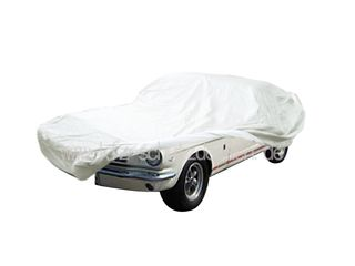 Car-Cover Satin White für Mustang 1964-1970