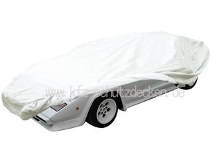 Car-Cover Satin White für Lamborghini Countach