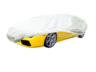 Car-Cover Satin White für Lamborghini Gallardo