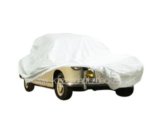 Car-Cover Satin White für Mercedes 180 Ponton