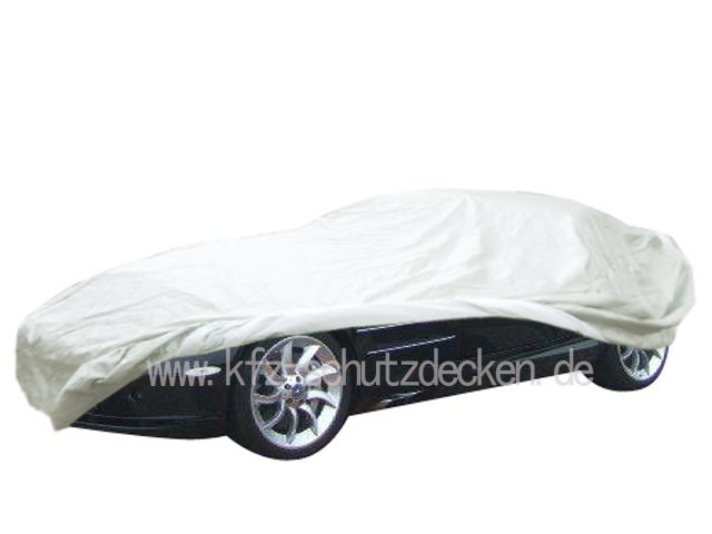 Autoabdeckung vollgarage car cover satin white f r for Mercedes benz car covers