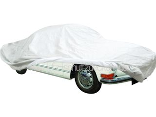 Car-Cover Satin White für VW Karmann Ghia