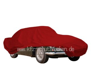 Car-Cover Samt Red for Aston Martin DB5